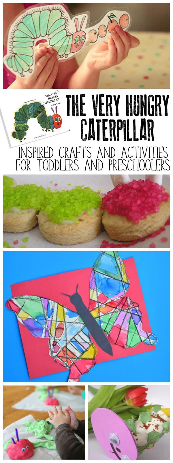 Fun Crafts And Activities For Toddlers Preschoolers Based On The Classic Eric Carle Book