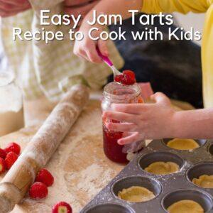 Easy Jam Tart Recipe