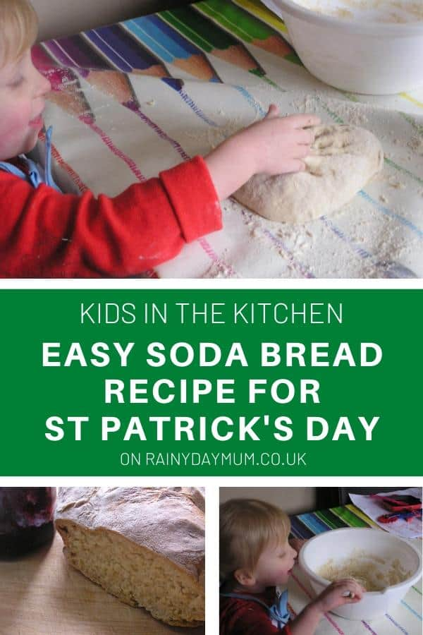 Easy Soda Bread Recipe for kids to make
