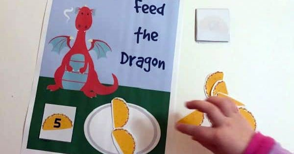 Dragons Love Tacos Counting Game For Toddlers And Preschoolers