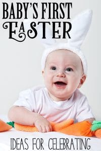 Inspiration and ideas to create and capture the memories of your baby's first Easter. With suggestions for activities, crafts, and fun that you and your baby can do together for this first Easter.