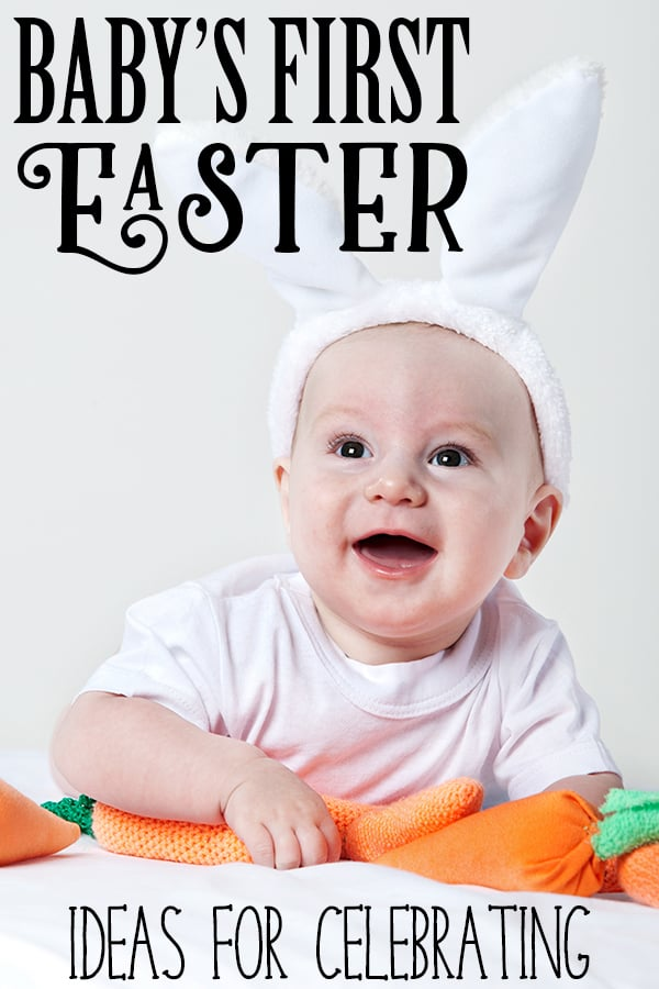 Fun ideas for you to celebrate your babys first easter inspiration and ideas to create and capture the memories of your babys first easter with negle Gallery