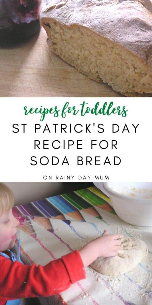 Recipes for Toddlers to Make St Patrick's Day Soda Bread