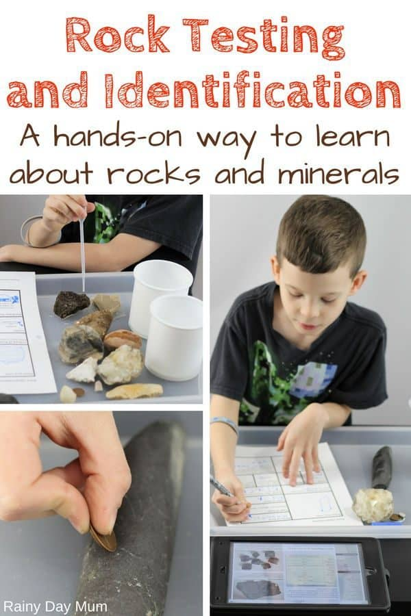 How to Test Rocks with Kids?