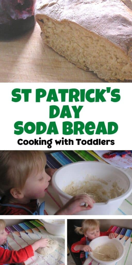 St Patrick's Day Soda Bread recipe to cook with toddlers