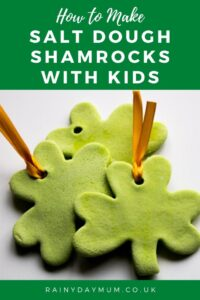 How to Make Salt Dough Shamrocks with Kids