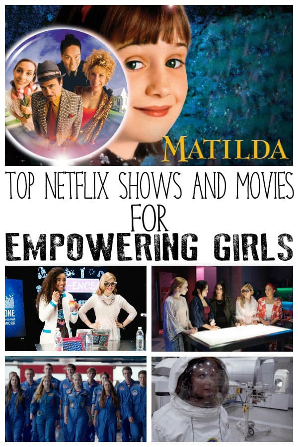 Netflix Movies and Shows for Empowering Girls