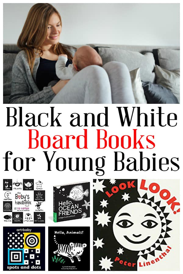 Pick up these black and white board books and spend some time reading together with your newborn and young babies. The high contrast images are ideal as they will be able to see the images and hearing your voice read the words will help language development and create memories you will look back on fondly.
