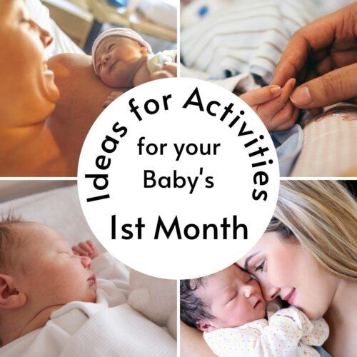 Activities for Newborns and Developmental Milestones