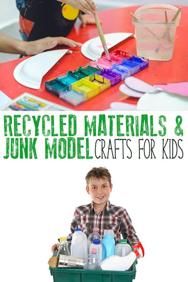 Simple Easy And Fun Crafts For Kids From Toddler Through To Teens Made With Recycled