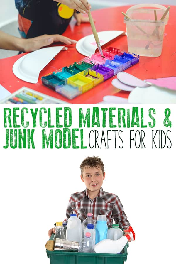 Over 30 Recycled Material and Junk Modelling Crafts for Kids of All Ages