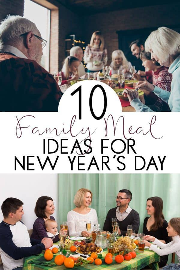 New Years Day Family Meal Ideas