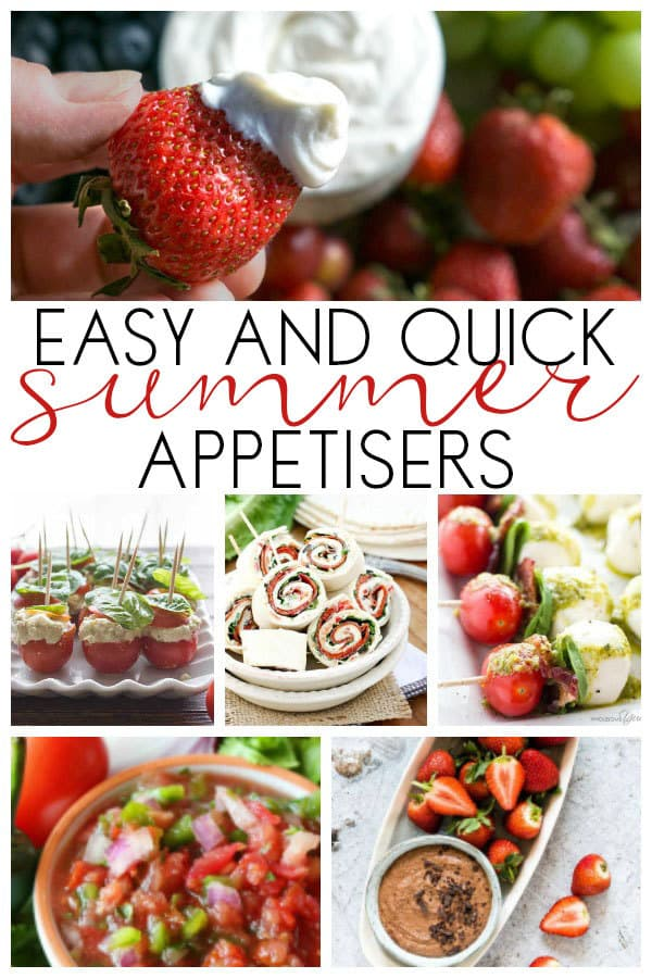 Quick and Easy Summer Appetisers to Make in Under 30 Minutes