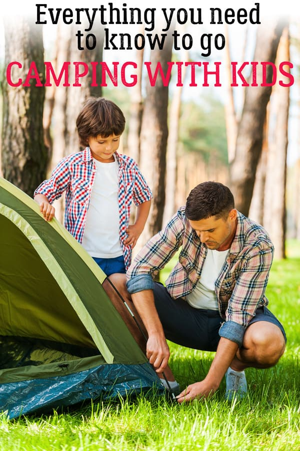 Your Best Resources for Camping with Kids