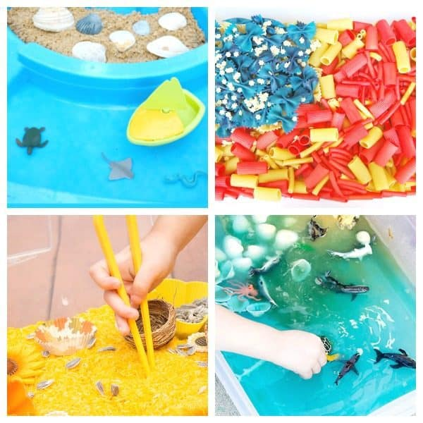Summer sensory ideas for toddlers