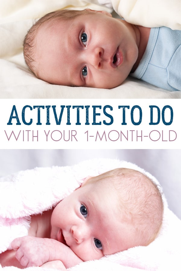 En E Their Senses And Support Your 1 Month Old Babies Development With These Simple