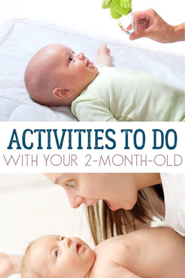 Activities to do with your 2-month-old