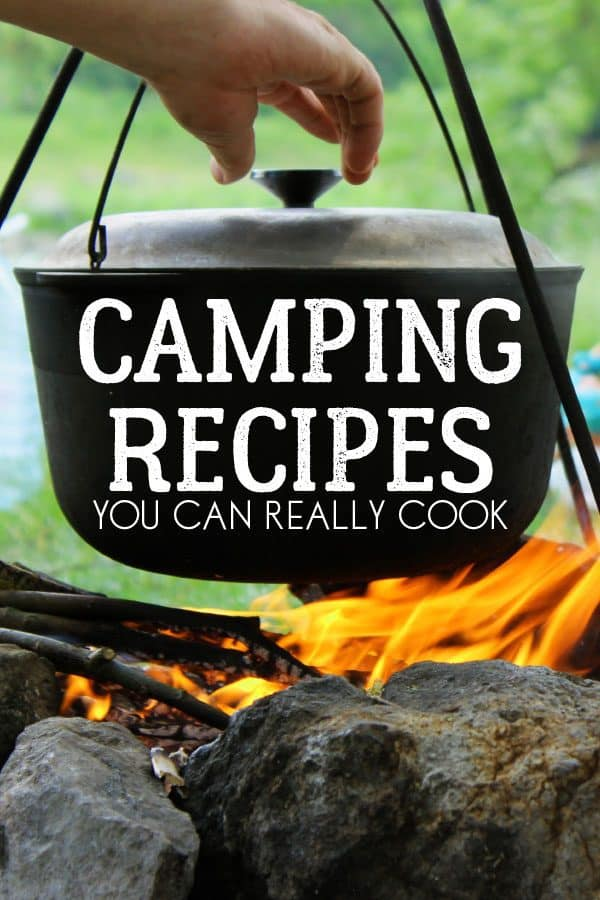 Delicious and Easy Camping Recipes that you can really cook whilst camping.
