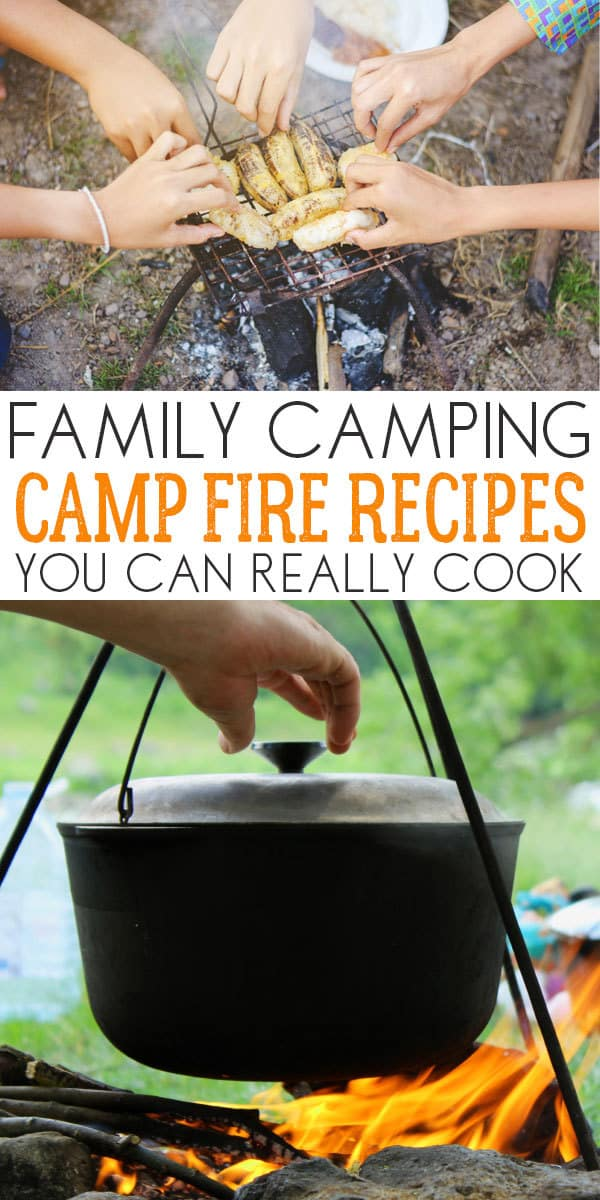 Recipes for your next family camping trip.