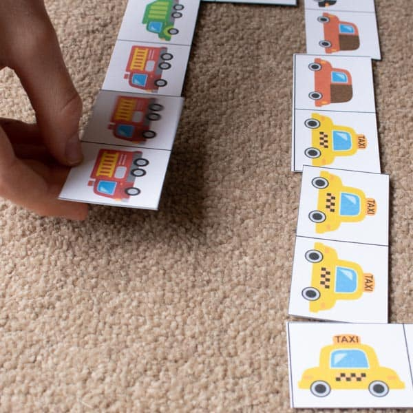 people who help us picture domino game to play with toddlers and preschoolers