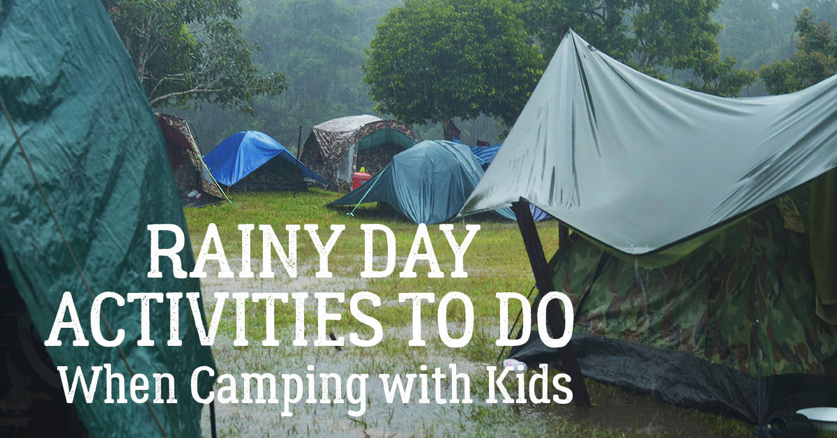 Fun Activities When Camping with Your Kids