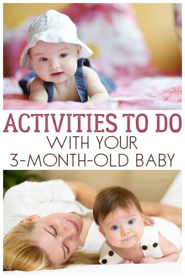 Activities to do with your 3-month-old baby