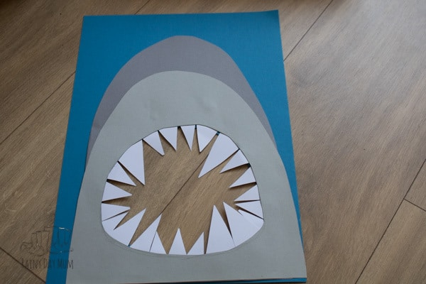 diy math and fine motor activity for shark week