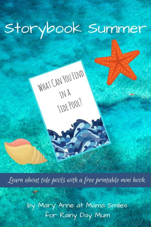 Free mini guide to use whilst rock pooling with kids