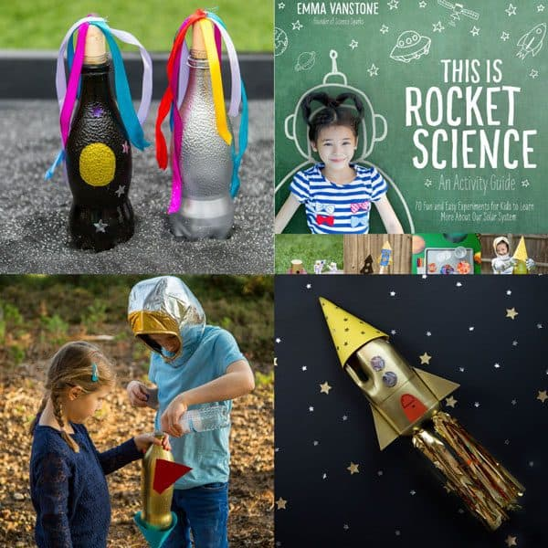 This is Rocket Science by Emma Vanstone a fun Kids Science Book Exploring Space Travel and the Solar System