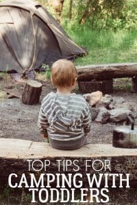 Top tips for camping with toddlers in a tent from parents that have been there and survived. Make sure you read this before you go.