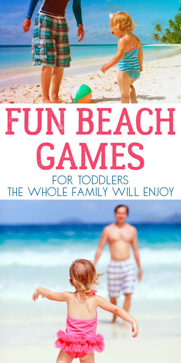 Have fun with your toddlers on the beach this summer with these simple games that the family will love, everyone can join in and have a laugh together.