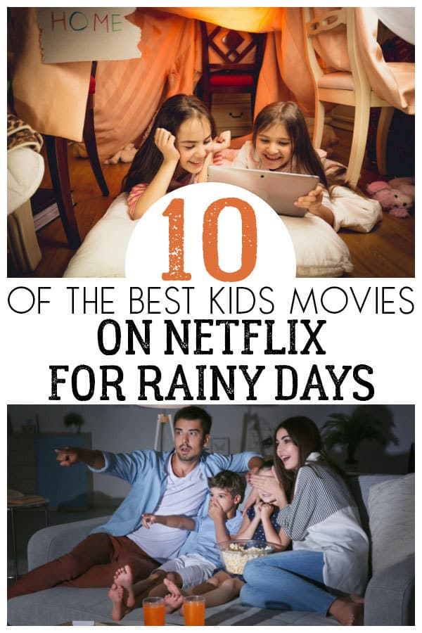 Best Rainy Day Movies on Netflix for Kids