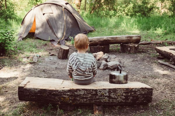 best tips for camping with toddlers
