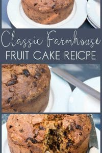 Delicious old fashioned fruitcake recipe, just like it's straight from the farmhouse. This classic recipe for afternoon tea or just to enjoy anytime.