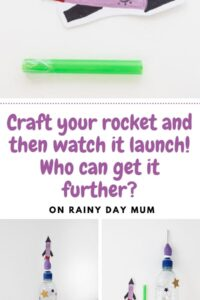 craft your rocket and watch it launch who can get it further?