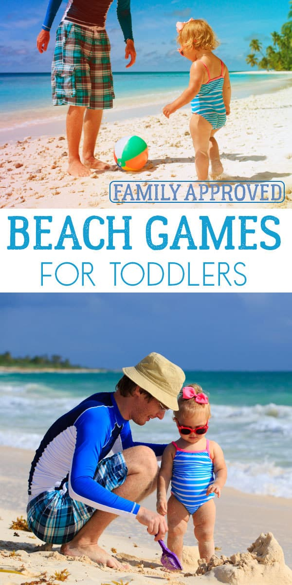 Simple activities to do at the beach with toddlers that everyone will have fun with