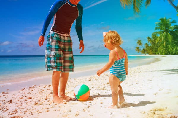 beach games for families that toddlers can join in with as well