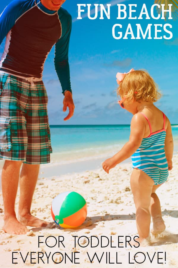 Fun Beach Games for Toddlers That the Whole Family will Love to Play