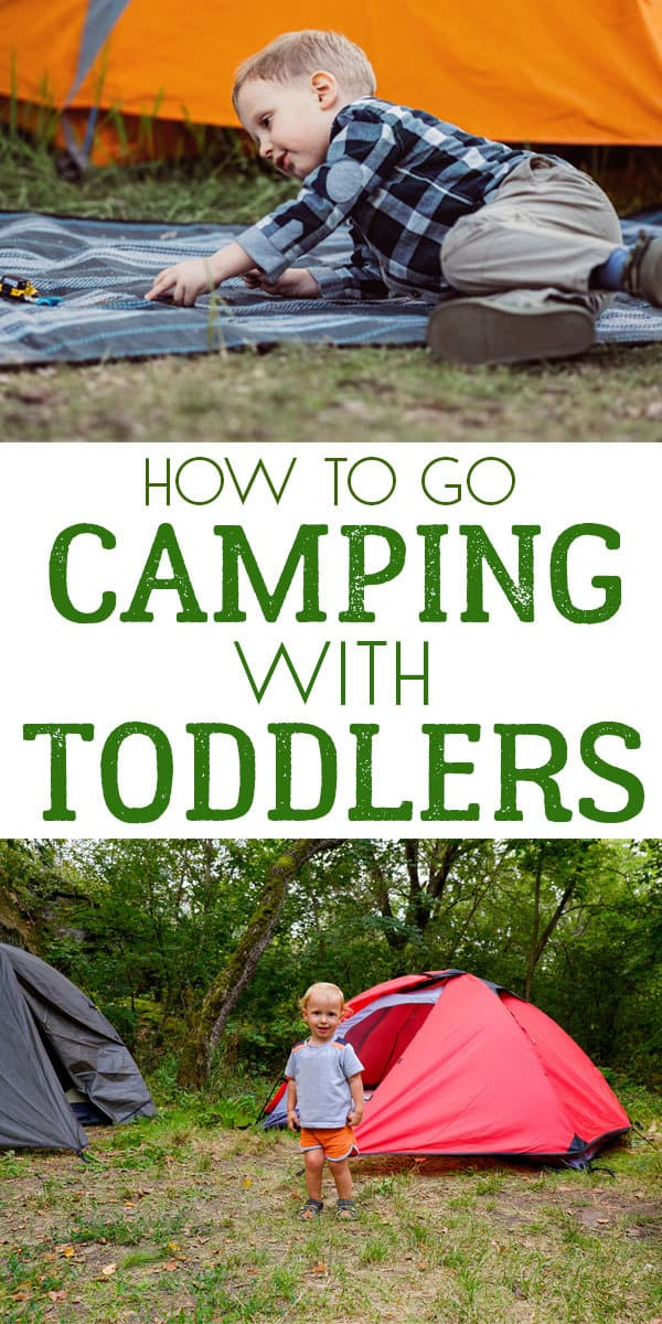 Top tips that will have you camping with your toddler in no time