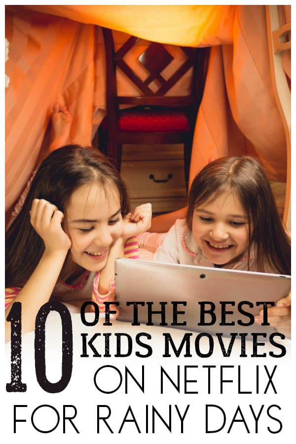 Pick of the best Netflix movies to watch on a Rainy Day with Kids that you will all enjoy. From classics to more recent these will brighten your day.