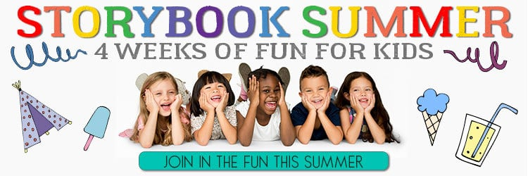 Storybook Summer, annual book based FREE activities, crafts and adventures for kids to stop the summer boredom.