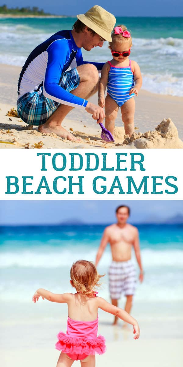 Toddler Beach Games that everyone will enjoy