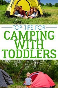 Your Top Tips for camping with Toddlers from parents that have done it
