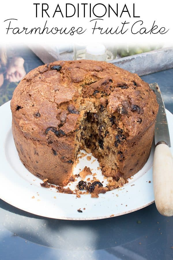 Classic Farmhouse Fruit Cake Recipe