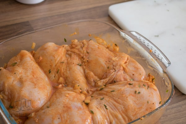 Easy marinade for chicken breasts