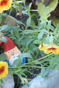 Cute little air-drying clay garden gnomes to make and hide amongst the plants with the kids