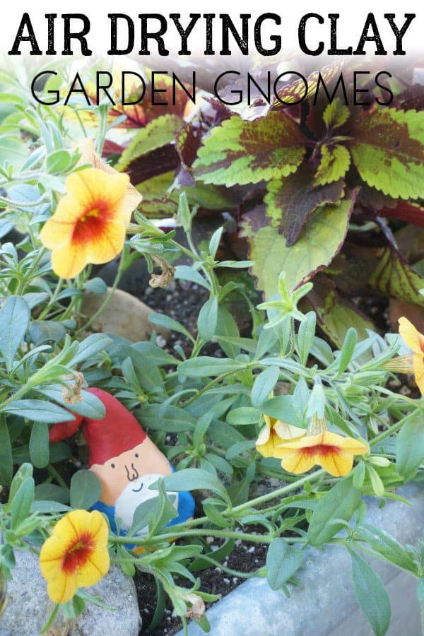 Create your own little garden gnomes with the kids using this simple and easy DIY project. Perfect for using in the garden to decorate pots and flower beds.