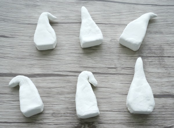 Making easy Garden Gnomes out of air drying clay