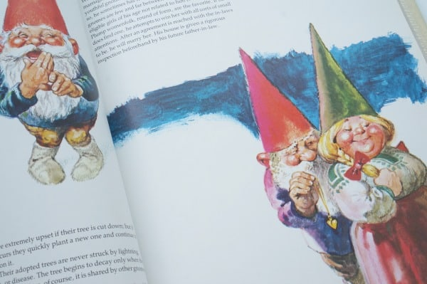 inside gnomes book with couple