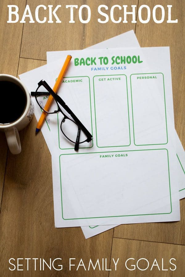 Get ahead for the new school year by setting back to school family goals. These simple ideas will inspire the whole family to have the best year yet.